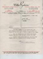 Documents Commerciaux De La Maison Willy Balasse Annonçant  Les Résultats Des Ventes 1946 Superbe PR3407 - 1900 – 1949
