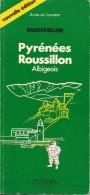 Guide Michelin - Guide De Tourisme - Pyrénées - Roussillon - Parution 1986 - 154 Pages - En Bon état - - Michelin (guides)