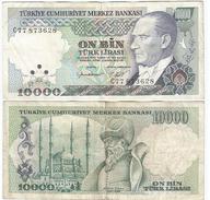 Turquía - Turkey  10.000 Lirasi 1982 (L1970) Pick 199 Ref 875 - Turquia