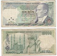 Turquía - Turkey  10.000 Lirasi 1982 (L1970) Pick 199 Ref 876 - Turquia