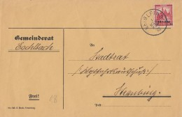 DR Brief EF Minr.464 Leiblfing 1.3.32 - Deutschland