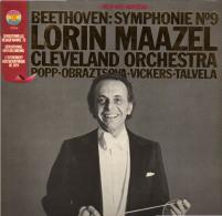 * LP *  BEETHOVEN: SYMPHONIE No.9 - LORIN MAAZEL - CLEVELAND ORCHESTRA (Germany 1979 EX-!!!) - Klassiekers