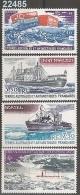 1980/1 - YT 62-63-64-65 ** - VC: 10.10 Eur. - Corréo Aéreo
