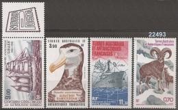 1984/5 - YT 84-85-86 87** - VC: 14.70 Eur. - Corréo Aéreo