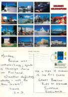 Helsinki, Finland Postcard Posted 1994 Stamp - Finland