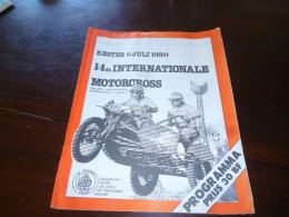 CB10LC163 Programme Grand Prix Motocross Kester Keesings Motor 1980 Moto Cross Moto Bike - Motos