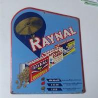 ANCIENNE PLAQUE ÉMAILLÉE RAYNAL - Brands