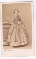 1865  Photo (format Carte De Visite) FEMME  Photo Bayard Bertall  PARIS - Anonymous Persons