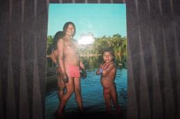 Z1 - GUYANE FRANCAISE - JEUNE INDIENNE WAYANA - Femme Seins Nus - Guyane