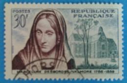 France 1959 : Centenaire De La Mort De Marceline Desbordes-Valmore N° 1214 Oblitéré - Gebruikt