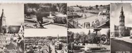 Carte Multi-vue Panoramique   - 500 - Le Cateau  Longeur 220 Mm * 85 Mm - Rare - Le Cateau