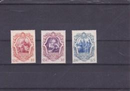 ITALIE 1942 - YT N°443-445-446 - Tricentenaire De La Mort De Galilée - 1900-44 Victor Emmanuel III