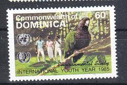 Dominica    -   1985.  Pappagallo. Parrot.  MNH - Perroquets & Tropicaux