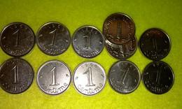 Lot 16b - 1 Ct EPI - FRANCE - 17 Pièces Monnaie 1962 à 1970 - Valeur 30 € - Other