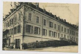 CPA: 71 - BOURBON-LANCY  - GRAND HOTEL - France
