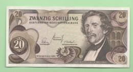 Austria Österreich 20 Scilling 1967 - Oesterreich