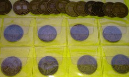 Lot 52 - 1 F Chambres Commerce FRANCE 24 Pièces Monnaie - 1920 à 27 - Valeur 110 € - Frankrijk