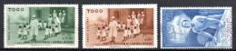 TGC/ Togo  PA N° 6 à 8  Neuf  XX  MNH , Cote :  3,00 € , Album 12 - Togo (1914-1960)