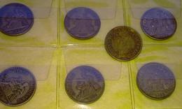 Lot 53 - 2 F Chambres Commerce FRANCE 9 Pièces Monnaie - 1920 à 1926 - Valeur 105 € - Other