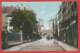 57 - METZ - Rue Et Porte Des Allemands - Metz
