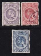 DENMARK, 1945, Used Stamp(s), Christian X,  Mi 286-288, #10053 - 1913-47 (Christian X)