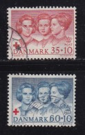 DENMARK, 1964, Used Stamp(s), Princesses, MI 421-422, #10085, Complete - Danemark