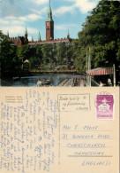 Tivoli, Copenhagen, Denmark Postcard Posted 1961 Stamp - Denmark