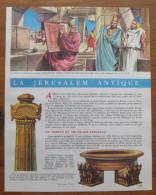 2 Scans - Document Thema 1965 - La Jérusalem Antique  //  VP 01/TU-6 - Vieux Papiers