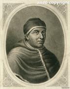 STAMPA,GRAVURE Di PAPA LEONE X -ANTICA COPIA DE LA GALERIA DE SAN PABLO IN ROMA-J.FURNO SCULPTURA-VEDI DESCRIZIONE - Prints & Engravings
