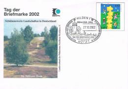 Deutschland Ganzsache Umschlag Hilden - Hildener Heide - Landschaft, Sonderstempel Turm - [7] Repubblica Federale