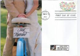 ETATS-UNIS. Just Married !  Lettre FDC De St Louis Missouri, Adressée Au Minnesota. - Vélo