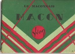 Macon - Pochette De 10 Mini Photos - 9 X 6,5 Cm - Edition Yvon - En Bon état - - Macon