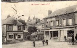 Gacé  (Orne)    Place De La Halle - Gace