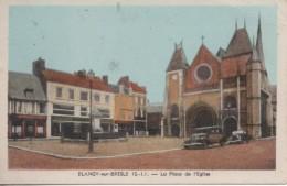 BLANGY SUR BRESLE LA PLACE DE L EGLISE - Blangy-sur-Bresle