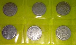 Lot 66 - 2 Franc MORLON Alu - FRANCE - 17 Pièces Monnaie - 1941 à 1959 - Valeur 68 € - France