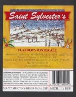 Etiquette De Bière  Saint Sylvester's  -  Brasserie De Saint Sylvestre Cappel  (59) - Bier