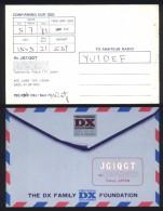 QSL Card USED Postcard / 1981 Tokyo Japan - Radio Amatoriale