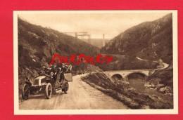 Puy-de-Dôme ...  Le Viaduc Des FADES ..... ( En Construction ... Avec Un Petit Historique ... + Automobile ...) - France