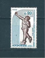 Timbres D'andorre  De 1970   N°205   Neuf ** - Neufs