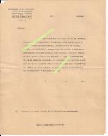 Franc-maçonnerie Loge Rose-croix Formulaire Non Appartenance Collaboration Doriot Vichy 2wk Ww2 39/45 1939/1945 - 1939-45