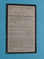 DP Maria Josepha VERBRUGGEN ( Lambrechts ) Kieldrecht 8 Aug 1836 - Zwijndrecht 23 Maart 1914 ( Zie Foto's ) ! - Overlijden