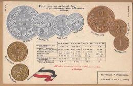 Papua   New Guinea  Coin Card  Png45 - Papua New Guinea