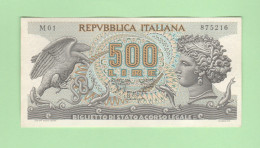Italia 500 Lire Aretusa 1966 - 500 Lire