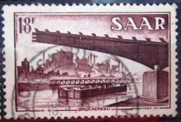 SARRE                N° 338              OBLITERE - 1947-56 Occupation Alliée