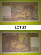 Lot 23 - 20 Francs BILLET Monnaie Banque - FRANCE - N° 66 T - DEBUSSY - 1997 - 1962-1997 ''Francs''