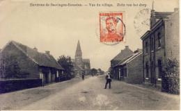 Heusden (environs De Beeringen) Zicht Van Het Dorp 1914 - Heusden-Zolder