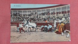 Bull Fight--- El Arrastre  ------  Ref 2324 - Corrida