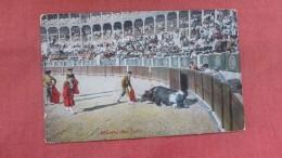 Bull Fight-- Muerite Del Toro--  Ref 2324 - Corrida