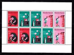 Nederland 1967 Nvph Nr 899 , Mi Nr  Blok 6 ; Kinderzegels, Thema: Kinderversjes - Period 1949-1980 (Juliana)