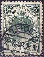 Netherlands 1899 - Queen Wilhelmina ( Mi 63 IIA - YT61 ) Perf. 11 - Oblitérés